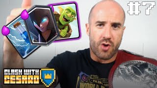 CESARO PLAYS THE CLASH DECKS YOU BUILT HIM!!! Clash with Cesaro #7 — UpUpDownDown Plays