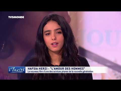 """Hafsia HERZI : """"L'amour des hommes"""""""