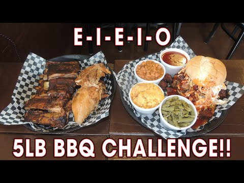 SMOKED BBQ Challenge w/ Ribs, Chicken, & Burnt Ends!!