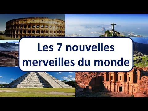 MP07 les 7 nouvelles merveilles du monde