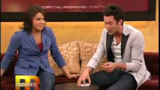 """Justin """"Kredible"""" Willman does card tricks for Rachael Ray (part 1 of 2)"""