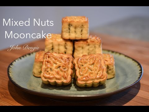 Mixed Nuts Mooncake | John Dengis