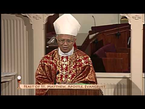 Daily Catholic Mass - 09/21/2015 - Archbishop Jose Palma