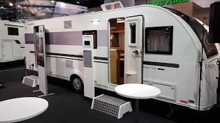 CamperTobi - WELTPREMIERE - ADRIA Adora 673 PK - 2019 - Caravan-Salon Düsseldorf 2018 - Walkthrough