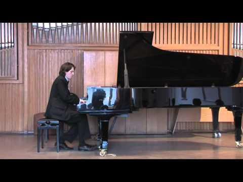 Artem Borissov plays Godowsky's Passacaglia