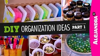 DIY Organization Ideas (Part 1) Thumbnail