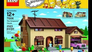 "71006 Lego ""simpsons House"" Time Lapse Stop Motion"