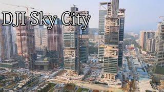 Shenzhen Xili Vanke Cloud City Design Commune, DJI Sky City, Office Buildings Suspended In Midair!