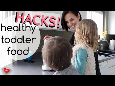 Healthy Toddler Food Hacks | Jaimie from Millennial Moms