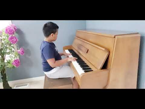 Rondo Alla Turca - Turkish March Piano Cover by a 9 year old