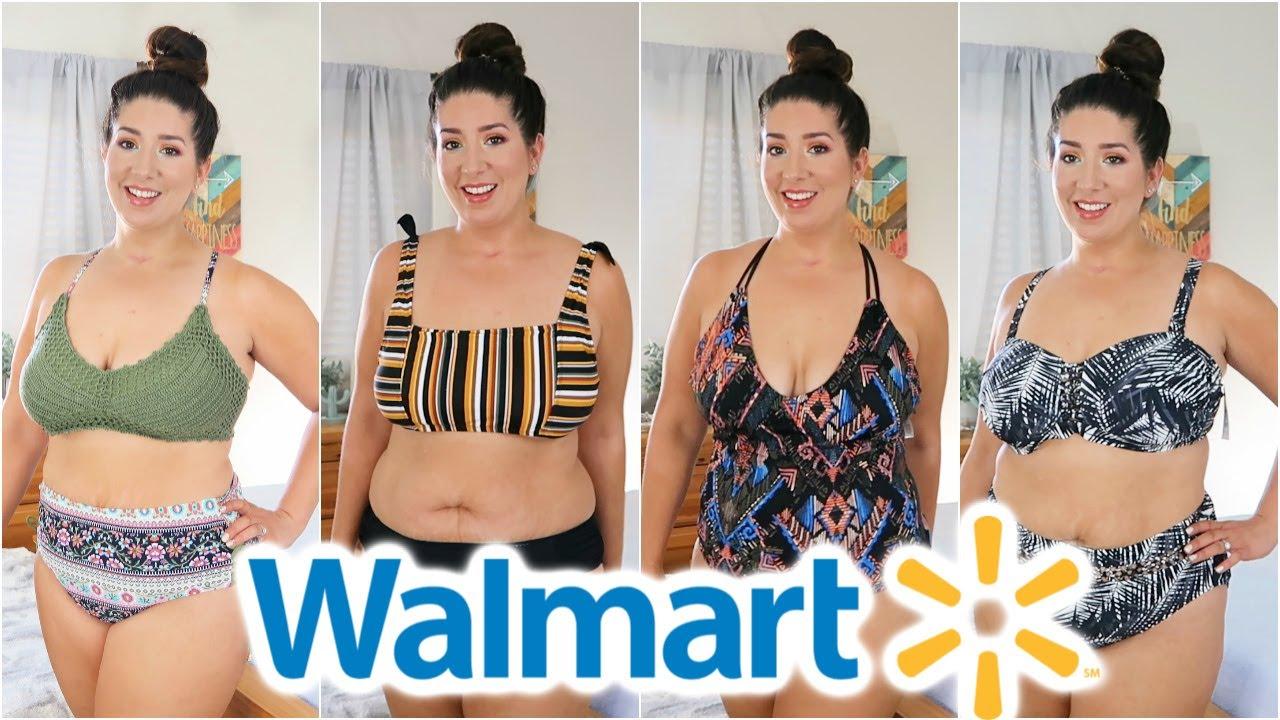 ed00e3cfd57 Walmart Swim Try on Haul Size 12