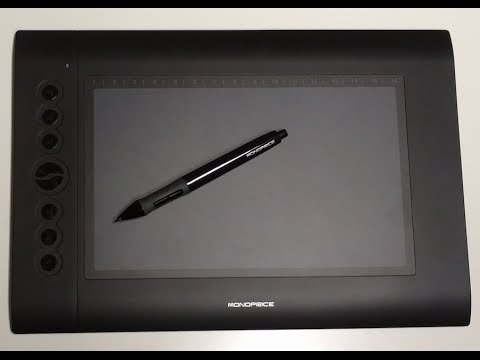 DRIVER UPDATE: MONOPRICE GRAPHIC DRAWING TABLET