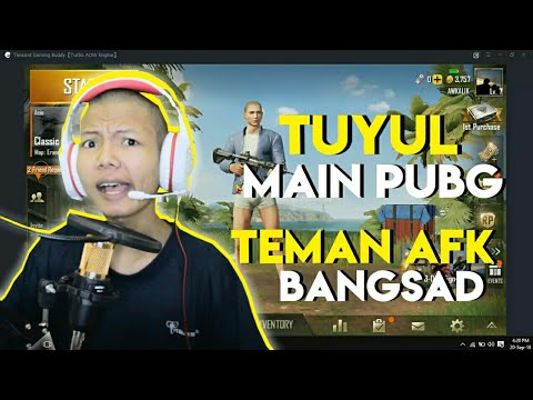 TUYUL MAIN PUBG MOBILE DI PC || AWKALIK