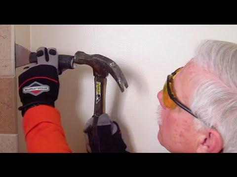 Bath Remodel AskTheBuilder Wall Tile Removal Part 1