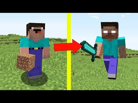 НУБ ПРОТИВ ХИРОБРИНА В МАЙНКРАФТ 4 ! ТЫ ПРО ИЛИ НУБ? ТРОЛЛИНГ MINECRAFT Сериал Мультик Майнкрафт - Видео из Майнкрафт (Minecraft)