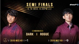 [2019 GSL S3] Ro.4 Match1 Dark vs Rogue (Part2)