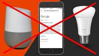Google Home on iPhone with Hue - Error 403 OAuth2 Error and Fixes