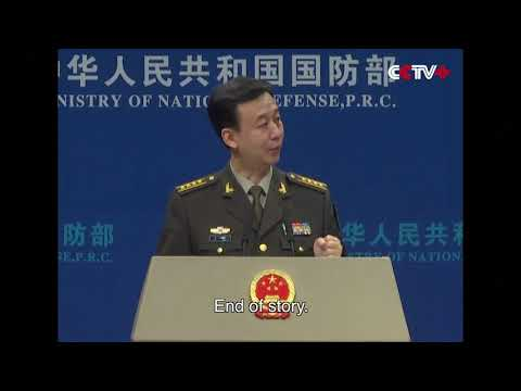 "Hype of ""China Military Threat"" is Waste of Time: National Defense Ministry"