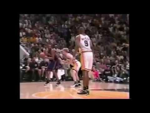 Latrell Sprewell 29pts @ Pacers 1999 Playoffs Gm5