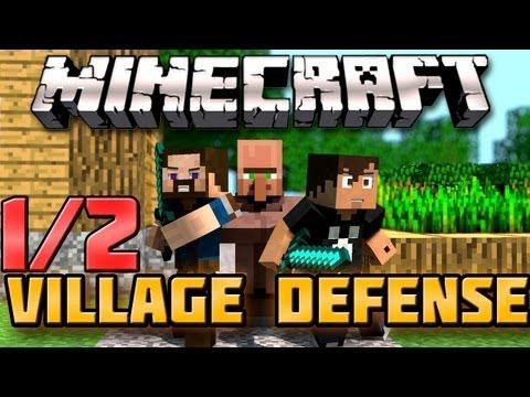 Minecraft: Village Defense - Я СПАСУ ТЕБЯ!