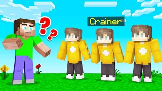 Spot The REAL CRAINER From The FAKE! (Minecraft Guess Who)