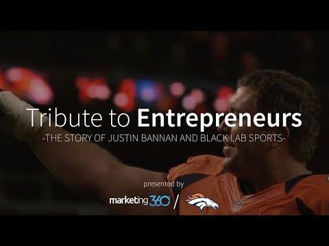 Tribute to Entrepreneurs: Justin Bannan & Black Lab Sports