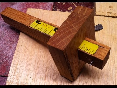 How to make a marking gauge, the easy way