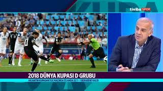 Dünya Kupası Ekranı - 16 Haziran 2018 (Peru 0-1 Danimarka)