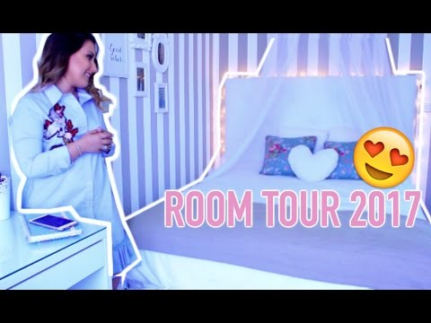 ROOM TOUR 2017!! | Vanessa Pereira