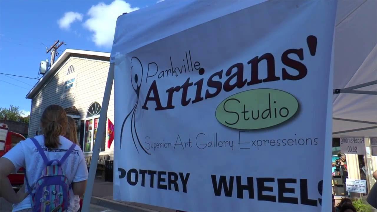 Final Fridays @ Parkville Artisan's Studio - YouTube
