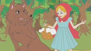 FAIRY TALE FRIDAY - LITTLE RED RIDING HOOD