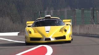 840HP Ferrari Enzo ZXX Edo Competition - Too Loud For The Track!