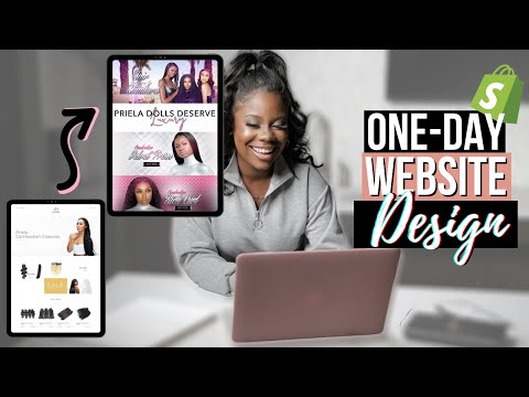 how-to-design-a-website-in-one-day-using-shopify-|-quick-&-easy-web-design-tutorial