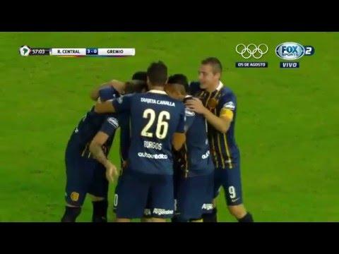 Rosario Central 3 - 0 Grêmio Copa Libertadores 2016