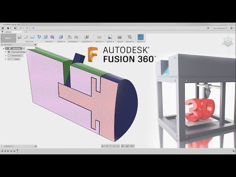 3D Printing Part FOR Education  — Fusion 360 Tutorial — #Lar