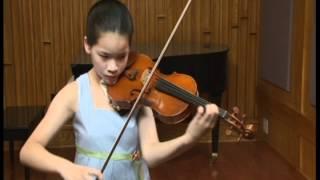 Sarasate Zapateado / Qingyu Chen violin / Snow Per Caso Violin / 2012 NYC