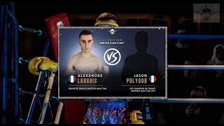 ALEXANDRE LAUGOIS vs JASON POLYDOR - ASL BOXING 2018
