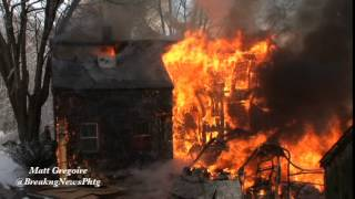 Douglas, Ma home destroyed in inferno