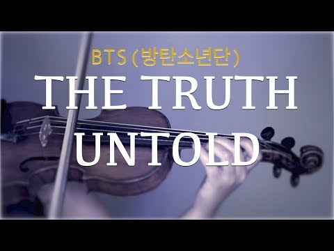 BTS (방탄소년단) - The Truth Untold For Violin And Piano (COVER)