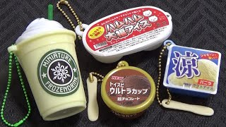 Capsule toys 44 - Ice cream, Popsicle, Frozen drink