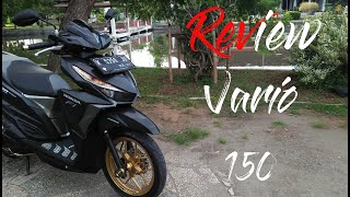 Review Modif Vario 150  #2