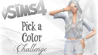 PICK A COLOR CHALLENGE | LS4: Angy White | #ColorSpeedSim