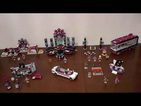 LEGO Friends Pop Star 41103 + 41107 + 41104 + 41105 + 41106