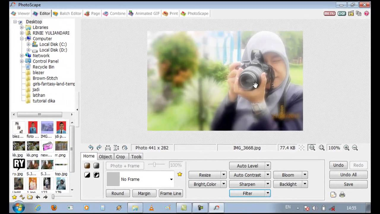 Cara edit foto photoscape 67