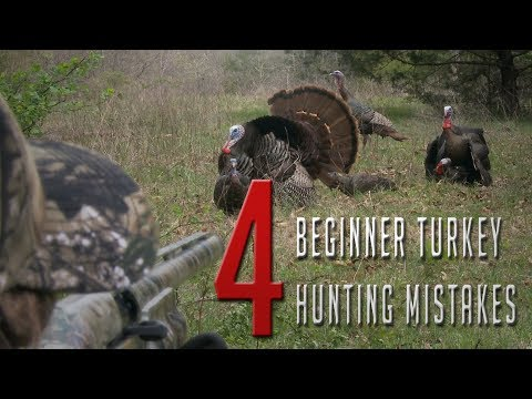 Beginner Turkey Hunting Mistakes!
