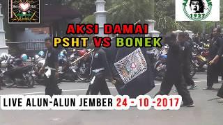 Video Aksi DAMAI PSHT VS BONEK Full Lautan Hitam live Alun-alun JEMBER - SANGAR !!! download MP3, 3GP, MP4, WEBM, AVI, FLV Mei 2018