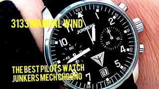 The Best Affordable Mechanical Chronograph - Junkers Pilot Watch 3133