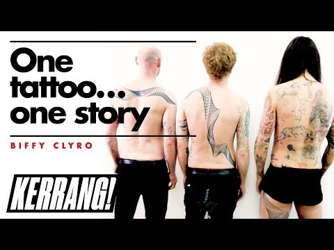 BIFFY CLYRO Show Off Their Awesome Group Tattoo