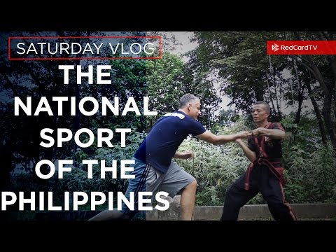 The National Sport of The Philippines (not basketball)