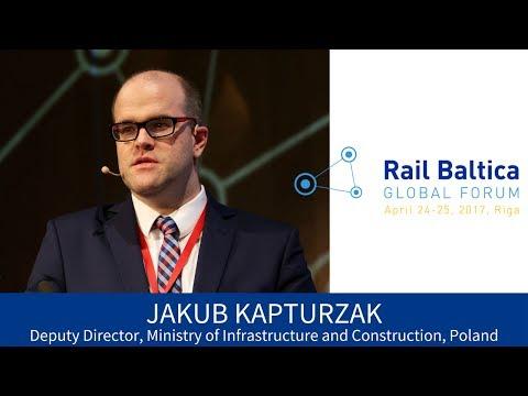 J. Kapturzak. Rail Baltica in Poland – Infrastructure and Logistics Development | RBGF 2017